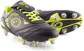 Optimum rugbyschoenen Razor Zwart / Fluor geel - EUR46 UK12