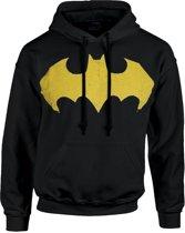 DC Comics - Batman Logo - Hoodie Zwart -L
