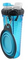 Popware H-Duo met Travelcup - Blauw