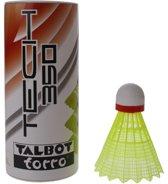 Talbot Torro Badminton Shuttles Tech 350 Geel/rood 3 Stuks