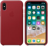iPhone X Leather Case - PRODUCTRED