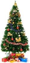 Kunstkerstboom - 240 cm hoog - inclusief voet