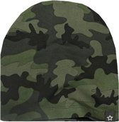Your Wishes Unisex Kindermuts Army - groen - Maat 0-1