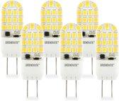 Groenovatie LED Lamp GY6.35 Fitting - 4W - 51x16 mm - Dimbaar - 6-Pack - Warm Wit