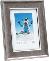 Deknudt Frames S46ED1  13x18cm Houten fotokader in zilverkleur