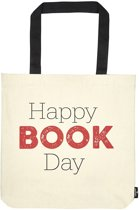 Moses Boekentas Libri_x Happy Book Day 8,5 Liter Beige
