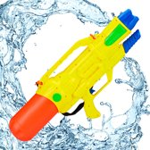 relaxdays waterpistool XXL - super soaker kinderen - waterkanon - water pistool - 1.8 L