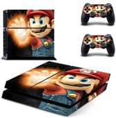 Super Mario Skin Sticker - Playstation 4