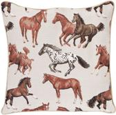Signare Kussenhoes Running Horse Paard - Gobelin - 45 cm