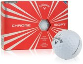 Callaway Chrome Soft 12-Pack Golfbal Wit