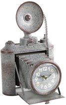 Metalen Klok camera grijs