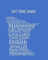 Minnesota Kid's Travel Journal