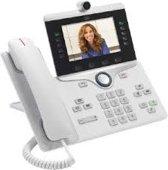 Cisco 8865 IP - Vaste telefoon - Antwoordapparaat - Wit
