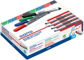 46x Giotto Robercolor whiteboardmarker maxi, ronde punt, groen