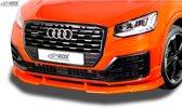 RDX Racedesign Voorspoiler Vario-X Audi Q2 S-Line 2016- (PU)