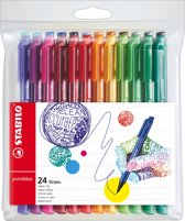 STABILO PointMax Fineliner - Etui 24 Kleuren