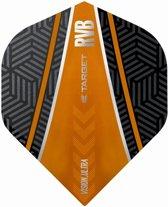 Target Ultra Raymond van Barneveld No2. Curve Black Orange  Set à 3 stuks