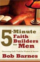 5-Minute Faith Builders for Men