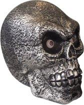 Enorme schedel decoratie met licht en geluid - Feestdecoratievoorwerp - One size