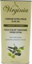 VIRGINIA Extra Virgin eerste koude persing olijfolie 5L