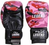 Legend Sports Bokshandschoenen Powerfit & Protect Camo Roze Maat 8