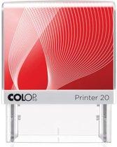5x Colop stempel met voucher systeem Printer Printer 20, max. 4 regels, voor Nederland, 38x14mm