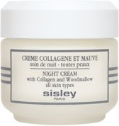 Sisley Night Cream With Collagen and Woodmallow Crème - 50 ml - Nachtcrème
