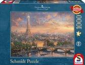 Parijs, Stad van de Liefde, 1000 stukjes Puzzel