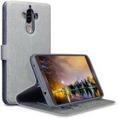 Huawei Mate 9 hoesje - CaseBoutique - Lichtgrijs - Kunstleer