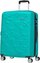 American Tourister Reiskoffer - Good Vibes Spinner 63/23 Tsa (Medium) Deep Turquoise