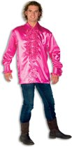 Ruche Blouse Pink
