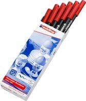 Edding 4200 porseleinstift rood (002)