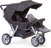CHILDWHEELS - TRIPLET WANDELWAGEN ANTRACIET +RC