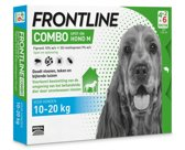 Frontline Combo - M: van 10 tot 20 kg - Anti vlooienmiddel en tekenmiddel - Hond - 6 pipetten
