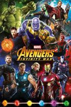 Avengers Infinity War Characters Maxi poster