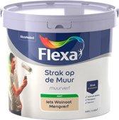 Flexa - Strak op de muur - Muurverf - Mengcollectie - Iets Walnoot - 5 Liter