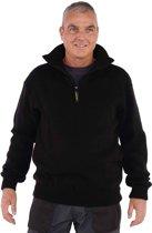 Storvik Schipperstrui 100% acrylic Heren Zwart - Maat L (52) - Perth