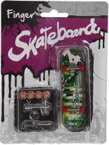 Vingerskateboard met accessoires