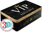 VIP Exclusive Tin Box Flat