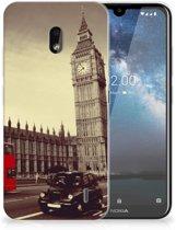 Nokia 2.2 Siliconen Back Cover Londen