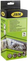 JBM Tools | Koplamp polijst set | Headlight lens restorer kit | Koplamp herstel kit |