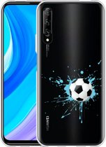 Huawei P Smart Pro Hoesje Soccer Ball