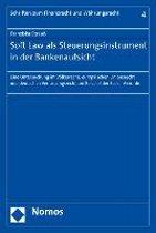 Soft Law ALS Steuerungsinstrument in Der Bankenaufsicht
