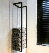 Handdoekenrek TLF interieurs zwart