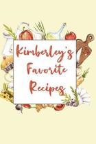 Kimberley's Favorite Recipes