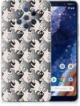 Nokia 9 PureView TPU Hoesje Salamander Grey