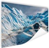 Gletsjer Perito Moreno Poster 90x60 cm - Foto print op Poster (wanddecoratie)