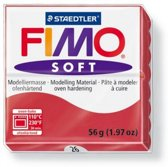 Fimo kersenrood Soft Normal