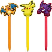 Bigben Official Pokemon Stylus Pen 3-Pack - Nintendo New 3DS/New 3DS XL/3DS/3DS XL/2DS