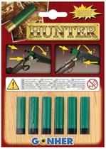 Gonher Speelgoed patronen 6 stuks groen/zwart